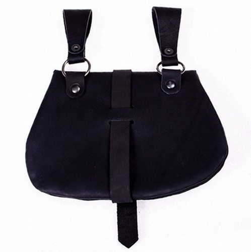 Early Medieval Bag Black Back