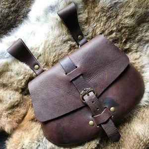 Early Medieval Bag Brown