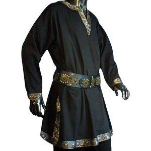 Linen Look Long Sleeved Tunic – Ideal For LARP, SCA and Costume