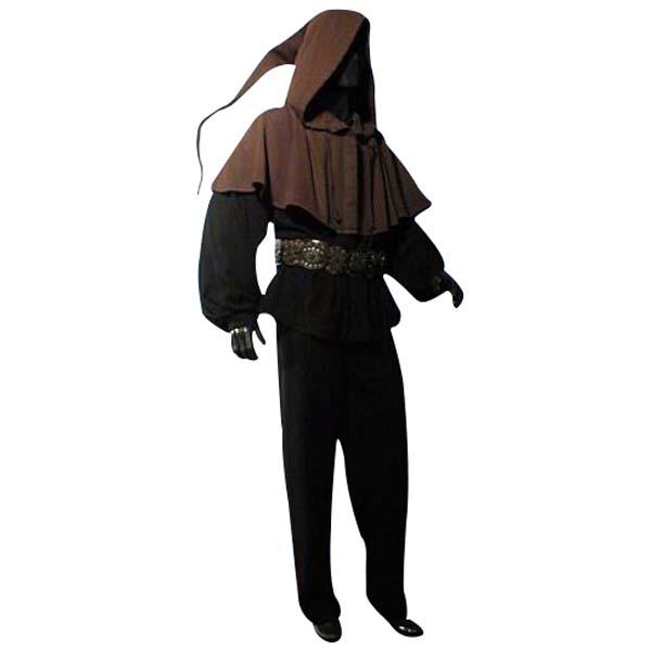 Long Tailed Hood Dark Brown 1