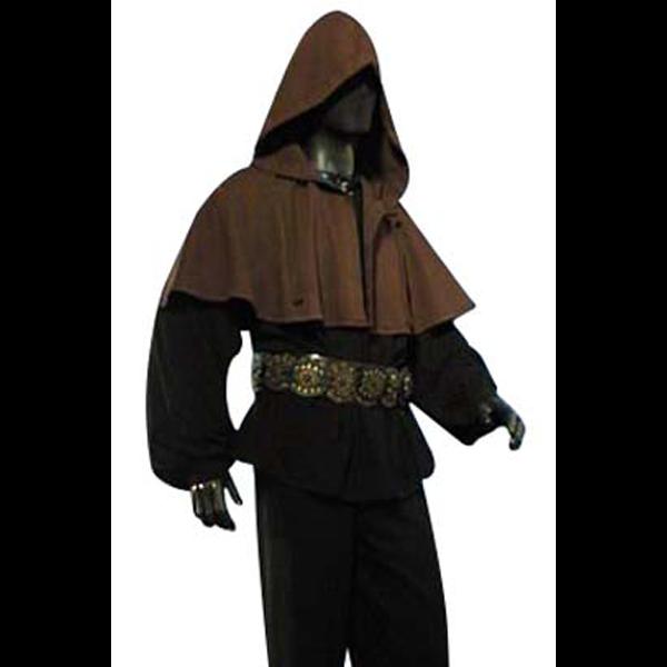 Medieval Hood Brown