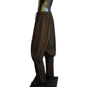 Medieval Viking Trousers Brown