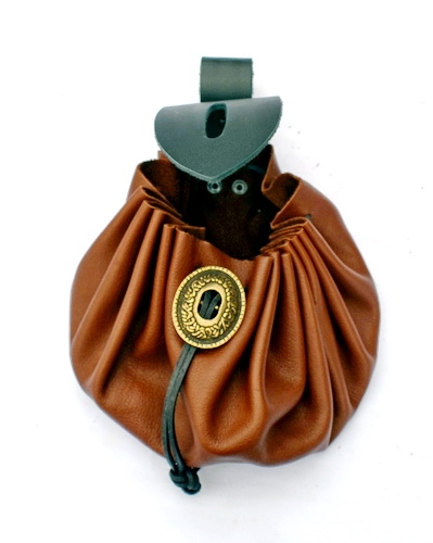 Medieval Belt Purse open