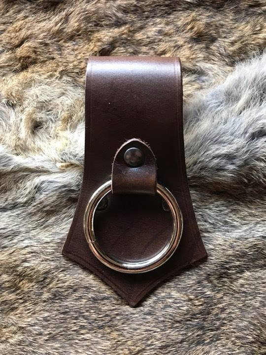 Ring type Axe Carrier Brown