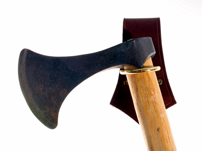 Ring type Axe Carrier WITH AXE