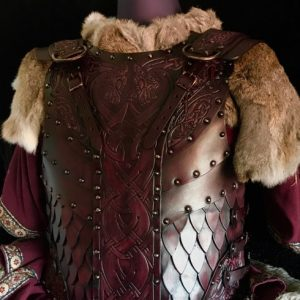 The Sigurd SCA & HEMA Leather Body Armour