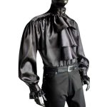 Satin Pastors Shirt BLACK