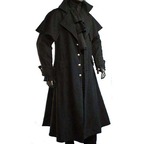 Box Coat Unlined BLACK