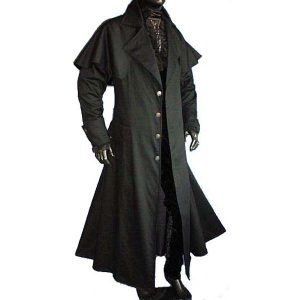 Box Coat Lined BLACK