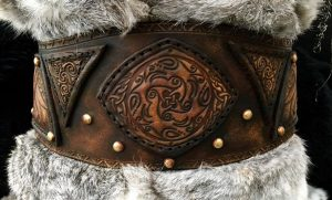Shield Maiden Clan Chief BUILT Leather Belt
