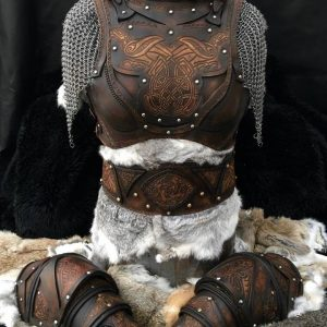 Clan Chief Leather Armour Full Set