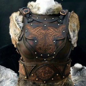 Clan Chief Leather Armour Body and Belt