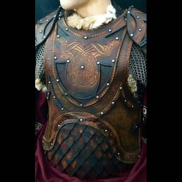 Odinson BUILT Deluxe LARP Leather Armour Body