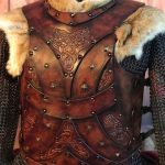 Bjorn Leather Body Armour Alternative Front