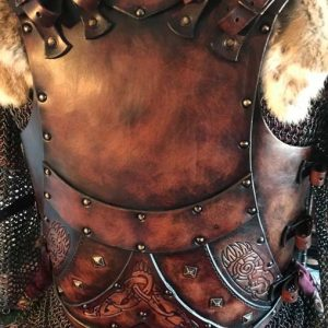 The Bjorn LARP Leather Body Armour