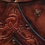 Bjorn Leather Body Armour Detail 1