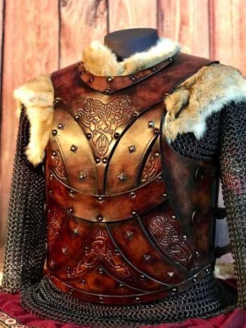 Bjorn Leather Body Armour