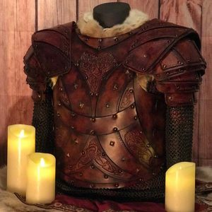 The Bjorn LARP Leather Body and Shoulders