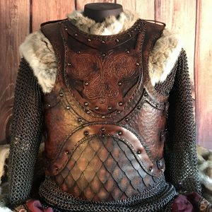 The Odinson SCA/HEMA Leather Body Armour