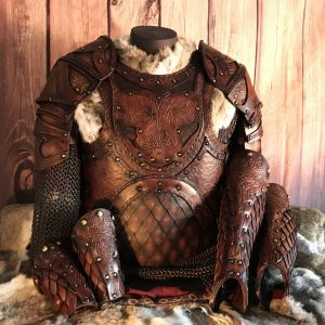 The Odinson Larp Leather Armour Full Set