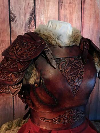 Shieldmaiden LARP and SCA Leather Armour