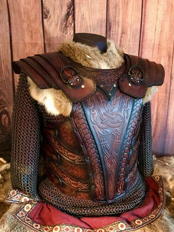 Asmund LARP and SCA Leather Armour