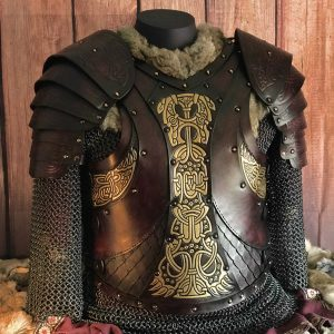 The Gunnar Scaled LARP Leather Body Armour