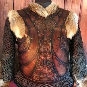 The Gunnar LARP Leather Body Armour