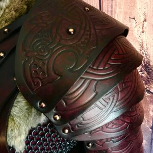 Gunnar SCA Leather Shoulders