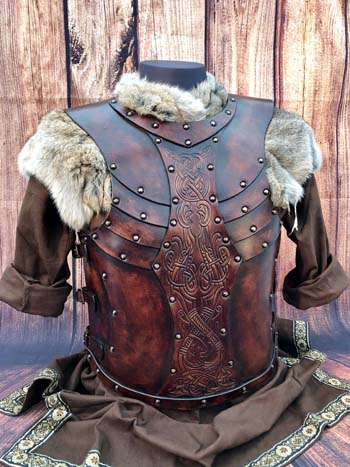 Valsgarde LARP and SCA Leather Armour