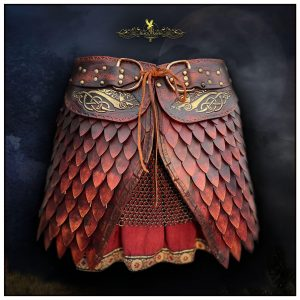 Limited Edition SCA Dragon Battle Skirt