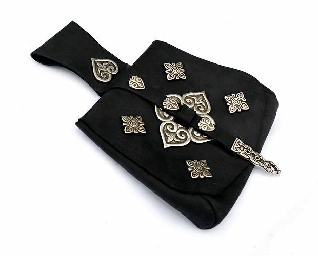 Birka Bag Black With Fittings