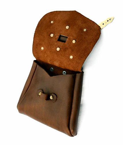 Inside Birka Bag Brown With Fittings