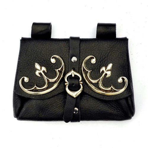 Medieval Nobles Bag with Added Fittings