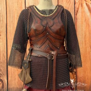 Freya Leather Body Armour