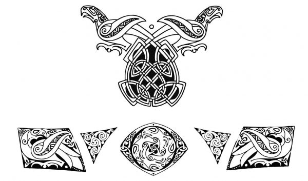 Clan Chief/Odinson Ravens Embossing