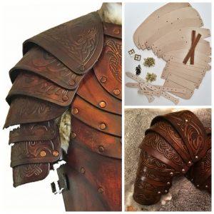 Vendel Leather Shoulders Kit