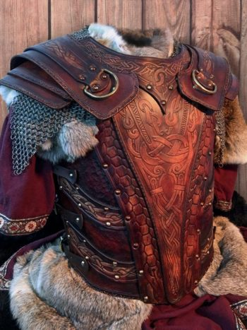 Battle Ready LARP/SCA Leather Armours at Black Raven Armoury